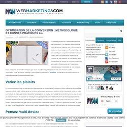 Optimisation de la conversion: méthodologie et bonnes pratiques 2/4