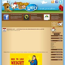 Browser Diet - L'optimisation des performances web illustré