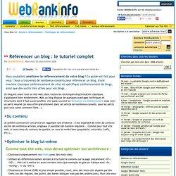 Guide complet d'optimisation du référencement d'un blog
