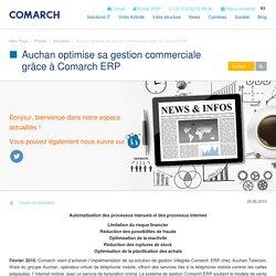 Auchan optimise sa gestion commerciale grâce à Comarch ERP