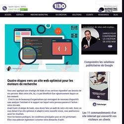 4 étapes vers un site web optimisé pour les moteurs de recherche