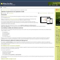 Optimiser l'ergonomie de son application mobile