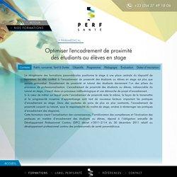 Optimiser l'encadrement de proximité des étudiants ou élèves en stage