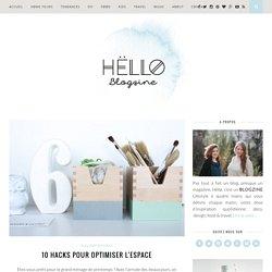 10 Hacks pour optimiser l'espace - Hëllø Blogzine