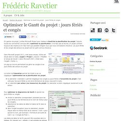 article : optimiser GANTT