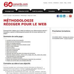 Comment rédiger et optimiser son contenu web pour les moteurs : méthodologie