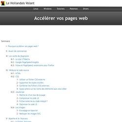 Optimiser les pages web
