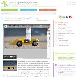 Optimiser ses photos pour une publication web