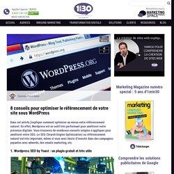 8 conseils pour optimiser le référencement de votre site sous WordPress