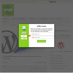 Guide complet référencement WordPress
