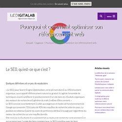 Pourquoi et comment optimiser son référencement web