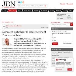 Comment optimiser le référencement d'un site mobile - Journal du Net Solutions