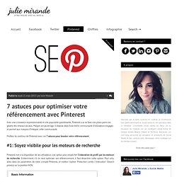 7 astuces pour optimiser votre référencement avec Pinterest