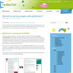 Optimiser page web