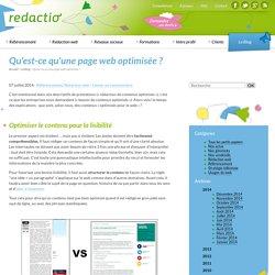 Optimiser page web