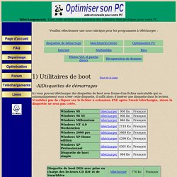Optimisersonpc-Téléchargements des utilitaires, des patchs et des pilotes très utiles pour votre PC