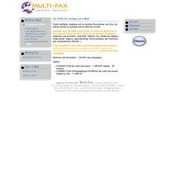 Fax-Mailing, e-Mailing, SMS-Mailing - Optimisez vos actions marketing avec un fichier qualifié