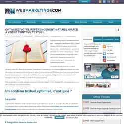 ▷ Optimisez votre référencement naturel grâce à votre contenu textuel