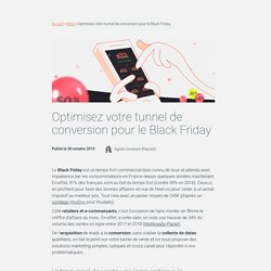 Optimisez votre tunnel de conversion pour le Black Friday
