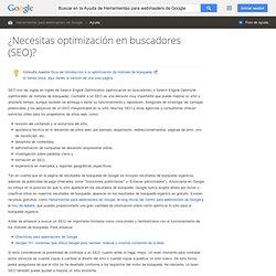 Optimización del motor de búsqueda (SEO) - Ayuda de Herramientas para webmasters de Google
