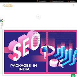 SEO Packages in India, Search Engine Optimization Packages, affordable SEO