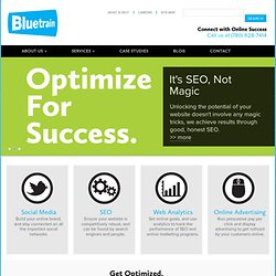 Edmonton Search Engine Optimization Company | Bluetrain SEO
