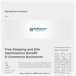 Free Shipping and Site Optimization Benefit E-Commerce Businesses