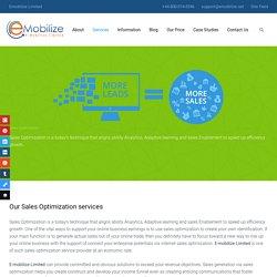 Sales Optimization - Emobilize Limited