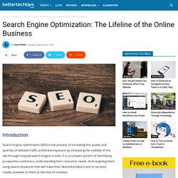 Search Engine Optimization: The Lifeline of the Online Business