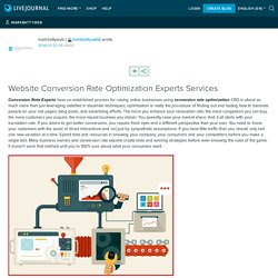 Website Conversion Rate Optimization Experts Services: markbattyweb