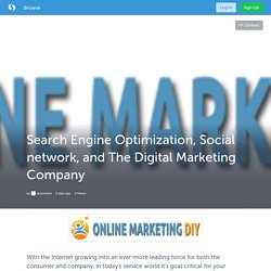 Search Engine Optimization, Social network, and The Digital Marketing Company (with image) · seoomaha