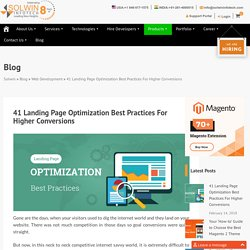 41 Landing Page Optimization Best Practices [Ultimate Guide]