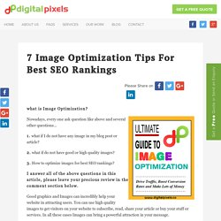 7 Image Optimization Tips for Best SEO Rankings