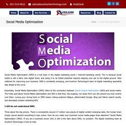 Social Media Optimization Services in Rockville, MD