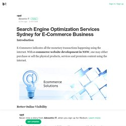 Search Engine Optimization Services Sydney