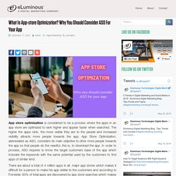 What is app-store optimization? Why you should consider it