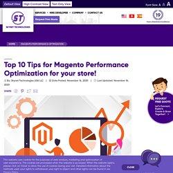 Magento 2 Performance Optimization - Skynet Technologies USA LLC