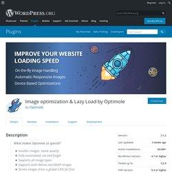 Image optimization & Lazy Load by Optimole – WordPress plugin