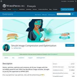 WP Smush - Image Optimization — WordPress Plugins