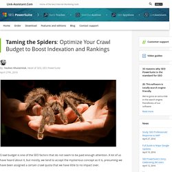Optimize Your Crawl Budget for Better Rankings: 7 Steps