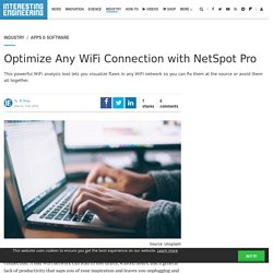 Optimize Any WiFi Connection with NetSpot Pro