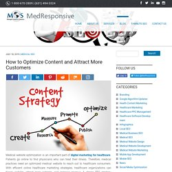 How to Optimize Content and Attract More Customers