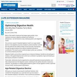 Optimize Digestive Health