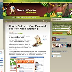 How to Optimize Your Facebook Page for Visual Branding