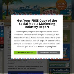 How to Optimize Social Ads for Every Stage of the Buying Funnel : Social Media Examiner