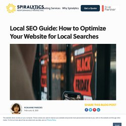 Local SEO Guide: How to Optimize Your Website for Local Searches
