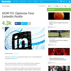 HOW TO: Optimize Your LinkedIn Profile