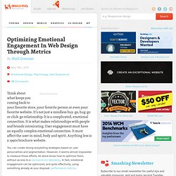 Optimizing Emotional Engagement In Web Design Through Metrics - Smashing Magazine