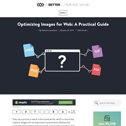 Optimizing Images for Web: A Step-By- Step Practical Guide