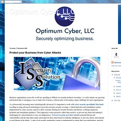 Optimum Cyber, LLC: Protect your Business from Cyber Attacks